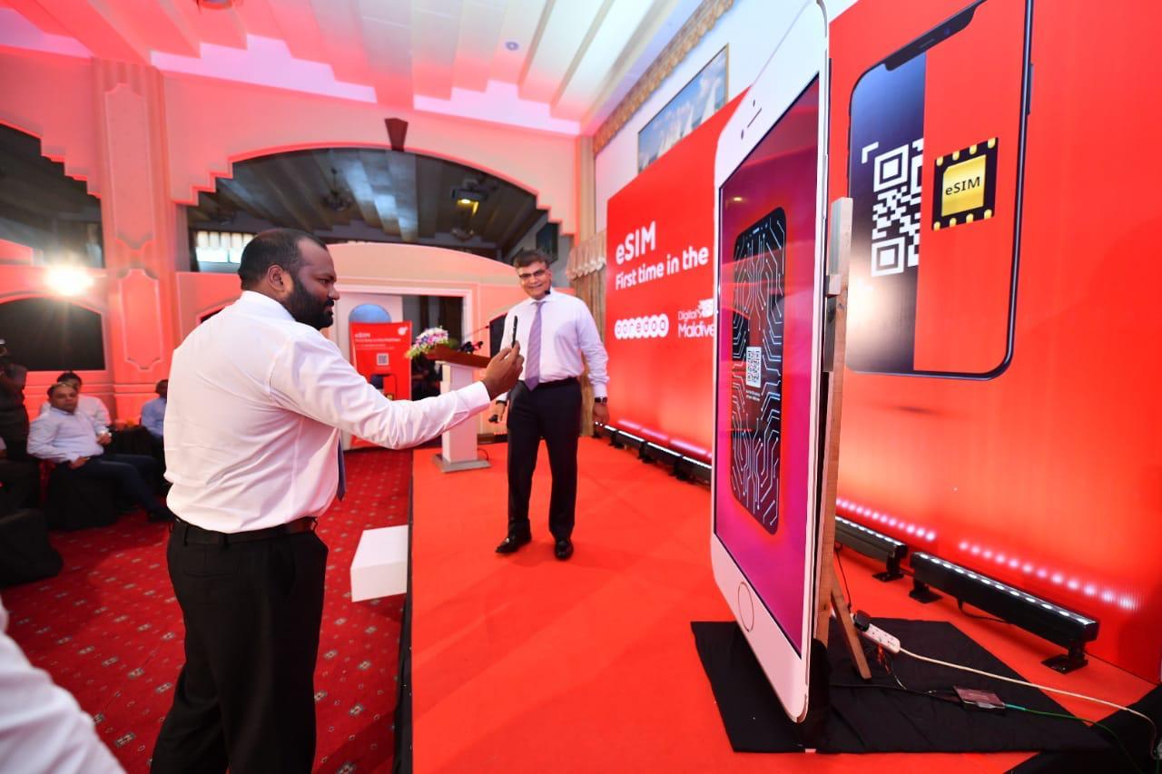 Ooredoo Launches eSIM in Maldives | Corporate Maldives
